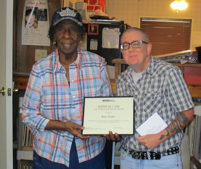 Reta Volunteer Award